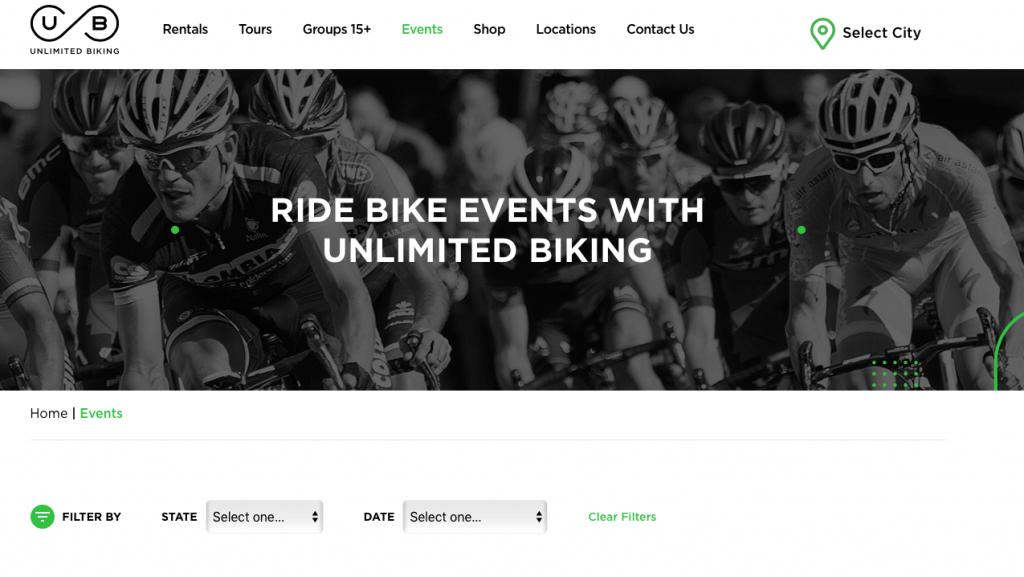 biking event