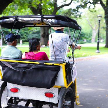 Central Park Pedicab Tour - Unlimited Biking