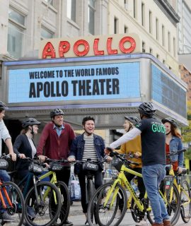 Harlem Highlights Bike Tour Apollo Theatre